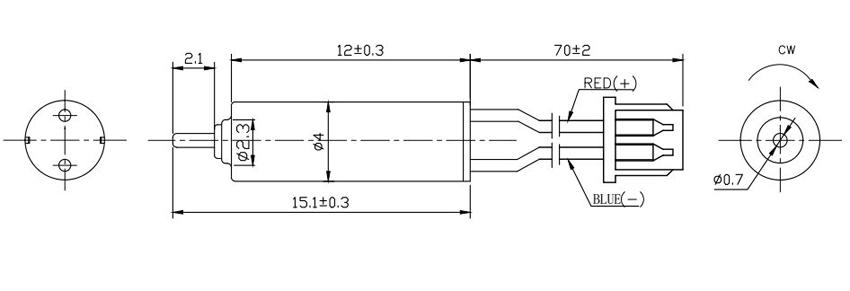产品型号 额定电压 空载电流 空载转速 启动电压 堵转电流 电枢电阻